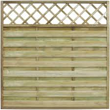 Festnight Square Garden Fence Panel With Trellis Wooden Outdoor Screening Fencing Barrier Pine 180 X 180 Cm Amazon Co Uk Kitchen Home