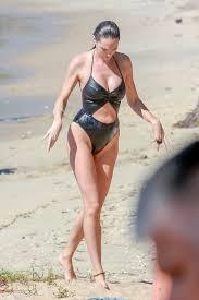 Candice Swanepoel in Swimsuit in Victoria, Brazil