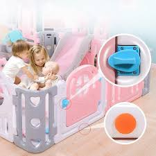 Super Deal Dae6 Baby Kids Playpen Indoor Playgrounds Family Amusement Park Baby Fence Game Center Child Safety Fence Barriere De Securite Enfant Cicig Co