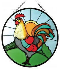 silver creek rooster panel farmhouse