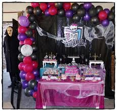 Eventos Tematicos Cumple Monster High Para Cathy