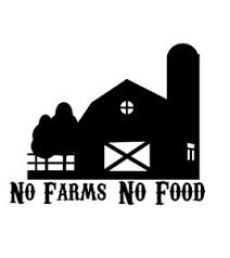 No Farms No Food Vinyl Decal Farming Midwest Sticker Car Truck Tractor Ebay