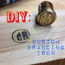 diy custom branding iron custom