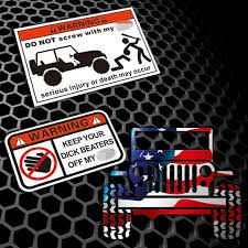 Car Styling Decal Automobile Truck Window Sticker For Jeep Renegade Compass Patriot Wrangler Jk Rubicon Cherokee Car Stickers Aliexpress