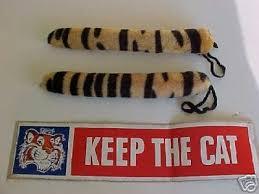 Esso Bumper Sticker Two Tony The Tiger Tails 22527869