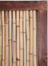 Bamboo Fence Panel With Frame 1 82m X 0 9m 6ft X 3ft By Papillon 44 99