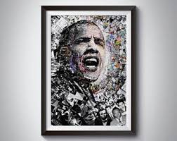 Barack Obama Art Etsy