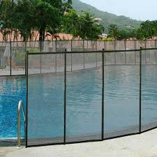 Swimming Pool Fence Safety Removable Fencing Baby Toddler Pet Children 4 X 12 For Sale Online Ebay