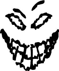 Disturbed Face Decal Sticker En