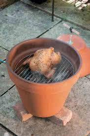 build a clay pot smoker