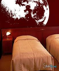 Moon Wall Decal Flowing In Space 523 Stickerbrand