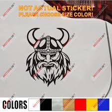 Viking Warrior Decal Sticker Norse Nord Norway Norwegian Car Vinyl Pick Size Car Stickers Aliexpress