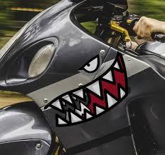 Shark Motorcycle Vinyl Decal Tenstickers