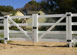 Outdoor Fence Fire Resistant And Stain Free Export In Israel Vinyl Fence Vinyl Fence Cost Horse Fence Gate