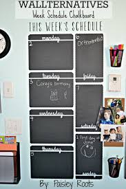 Weekly Calendar Wall Decal Dry Erase Kate Spade Monthly Art Large Chalkboard Vamosrayos