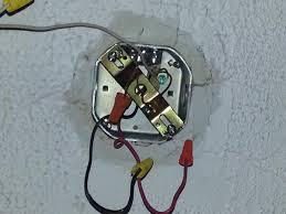 how to install regular light fixture