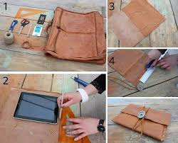 steps on how to make ipad leather case