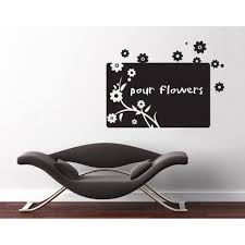 Shop Flower Board Chalkboard And Eraseboard Wall Decal Vinyl Art Home Decor Overstock 11545330