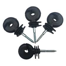 50pcs Electric Fence Insulators Screw In Post Easy And Wire Stable To Twist Electric Fence Ring Insulator Guardian Small Animals Screws Aliexpress