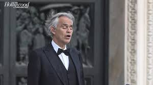Andrea Bocelli Performs Live on Easter ...