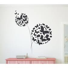 Winston Porter Butterflies Dandelion Vinyl Words Wall Decal Wayfair