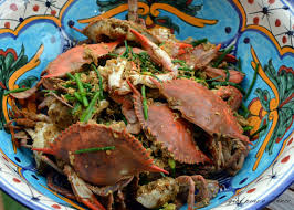 Lao Curry Blue Crab (With images ...