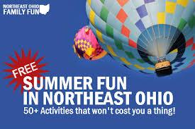 free summer fun in northeast ohio