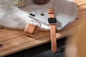 leather accessory line for apple watch