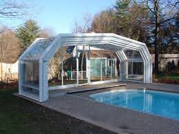 Retractable Enclosures Is The Most Common Enclosure Surrounding Homes And Swimming Pools Swimming Pool Fe Swimming Pool Enclosures Pool Houses Pool Enclosures