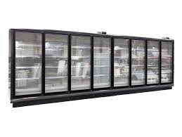 display freezer multideck glass door