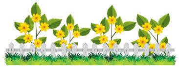 A Beautiful Flower Fence Download Free Vectors Clipart Graphics Vector Art