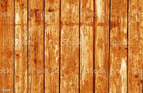 Wooden Fence Pattern In Orange Tone Stock Photo Download Image Now Istock