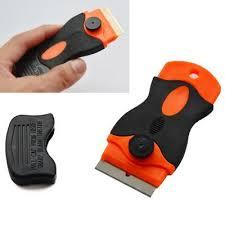 Car Window Sticker Plastic Scraper Spatula Remover Tools Set With Razor Blades Buy At A Low Prices On Joom E Commerce Platform