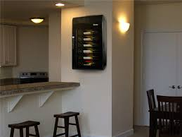 wall mounted wine cooler by vinotemp
