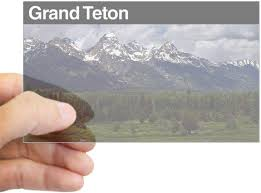 Amazon Com Cafepress Grand Teton National Park Sticker Rec Rectangle Bumper Sticker Car Decal Home Kitchen