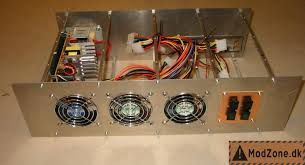 19 inch diy pc rack and server project