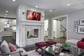double sided fireplace designing tips