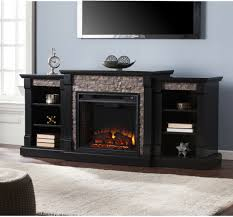 gwynne electric fireplace bookcase for