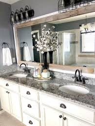 updated bathroom mirrors how to make