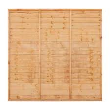 6ft X 3ft Lap Timber Fencing Panel First Fence Ltd