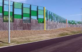 Aus Group Alliance Aga Noise Walls Melbourne Sounds Barriers Noise Wall Installation And Protective Screens Sound Wall Concrete Fence Wall Landscape Design