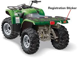 Displaying The License Plate And Registration Sticker Id Offroad Ed Com