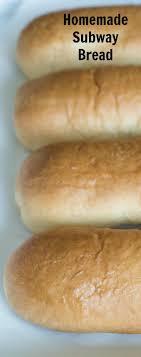 easy homemade subway bread subway