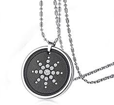 stainless steel round crystal volcanic