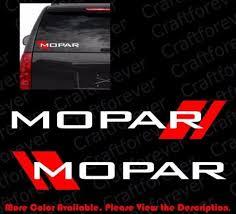 For Pair X Mopar 2 Layer Vinyl Car Window Decal Sticker Ram Mopar Charger Rc011 Car Stickers Aliexpress