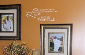 Love Gives Us A Fairytale Beautiful Wall Decals