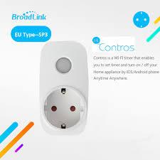 Broadlink SP3 Contros CC EU Cắm Thông Minh Không Dây Cung Cấp Điện Ổ Cắm  16A Hẹn Giờ Cắm Wifi Điều Khiển Từ Xa Nhà Thông Minh IOS android|power plug  socket