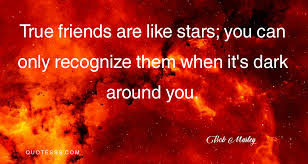 bob marley kutipan teman sejati seperti bintang anda hanya dapat