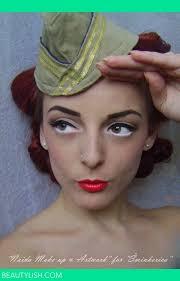 history of make up 1940 s naida d