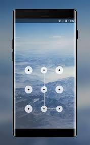 lock theme for mountain oneplus x